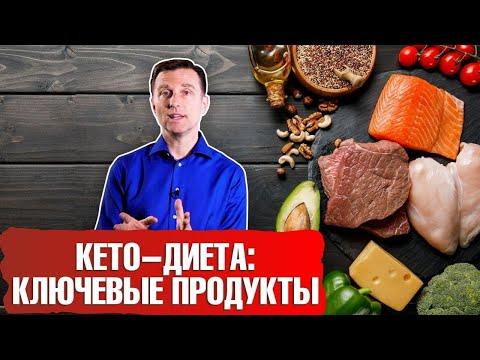 КЕТО ДИЕТА: Ключевые продукты