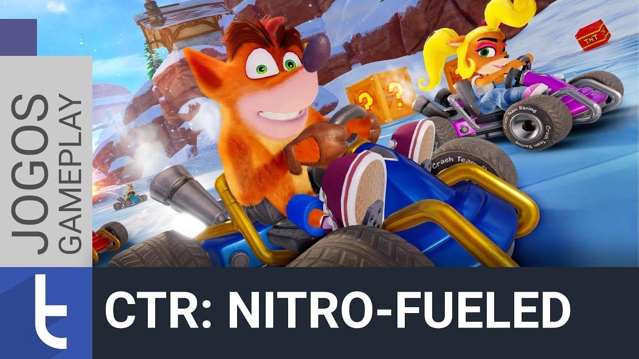 Crash Team Racing Nitro-Fueled: venha pela nostalgia, fique