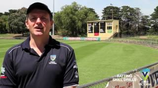 Batting Skill Drill - Cricket Coaching Tips