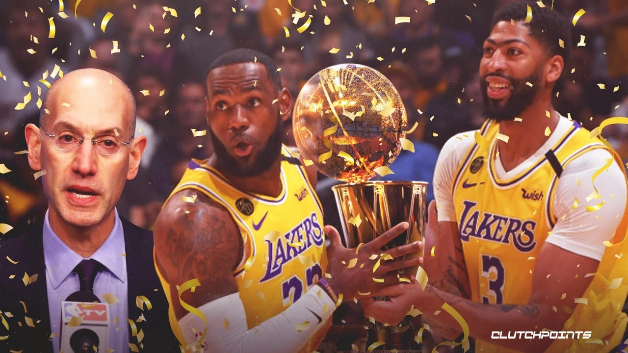 2020 THE NBA CHAMPIONS LOS ANGELES LAKERS - YouTube