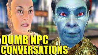 The Dumbest NPC Conversations In Oblivion