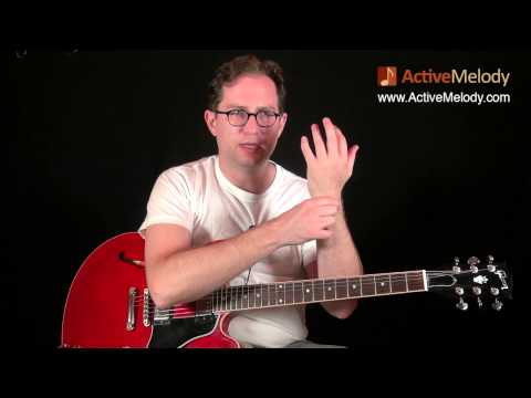 Part 2 of 4 - How to Play a Blues Lead Guitar Solo and Rhythm in the Key of A - EP018-2