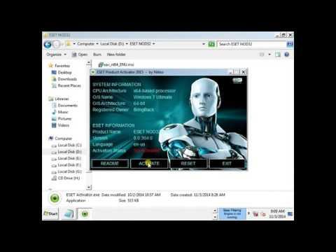 descargar nod32 crack para windows 7 64 bits gratis