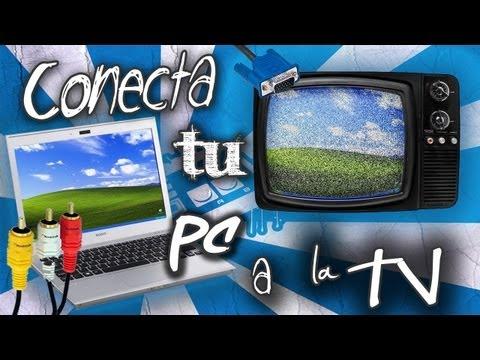 Como Conectar PC o Laptop a una Televisión (Analogica)