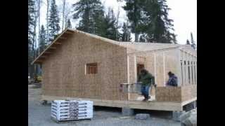 Building A Cabin From Scratch.