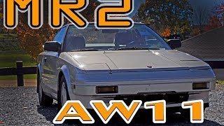 Regular Car Reviews: 1986 Toyota MR2 AW11