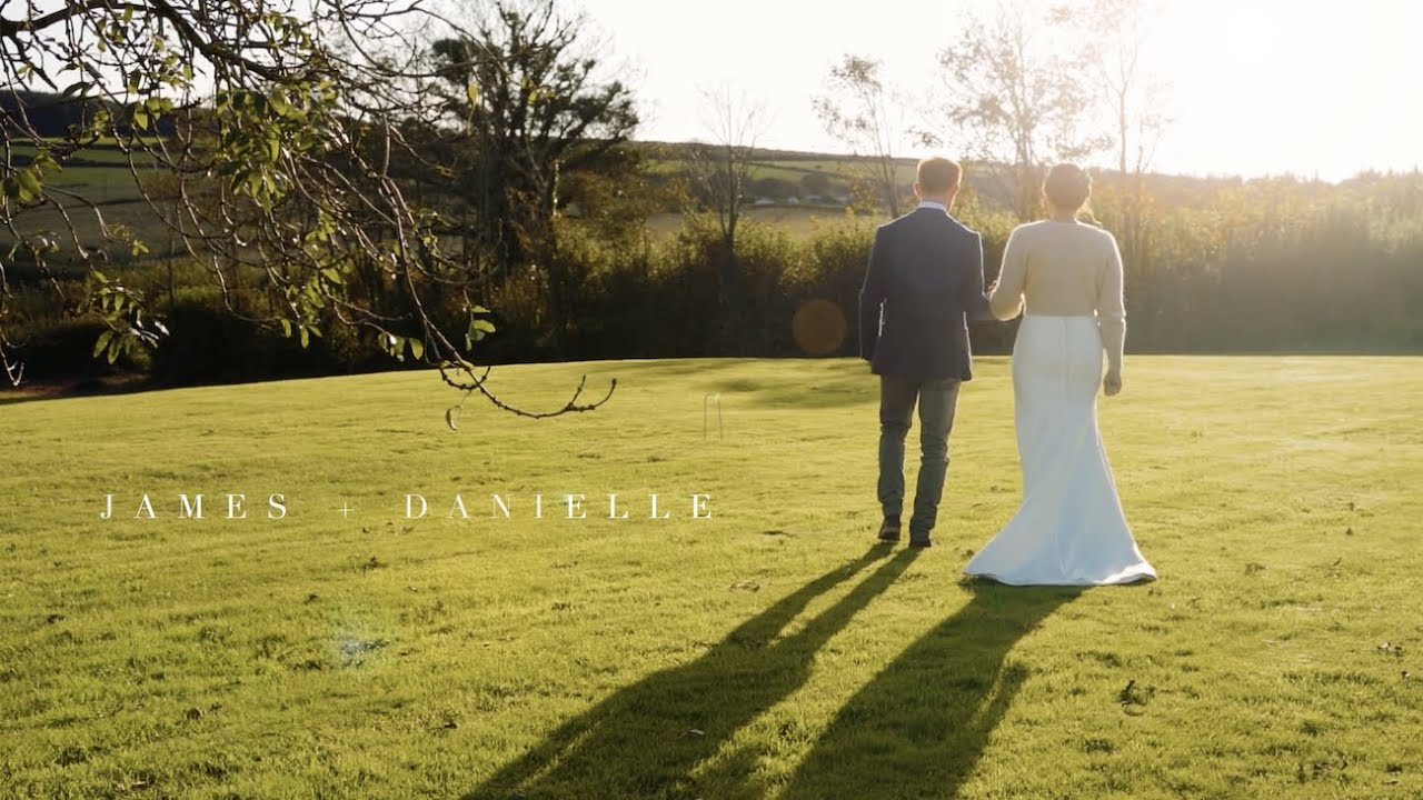 Micro-Wedding Video -Camel studios - Cornwall barn wedding in Autumn