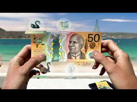 Next generation of Australian banknotes: New $50 (60 second