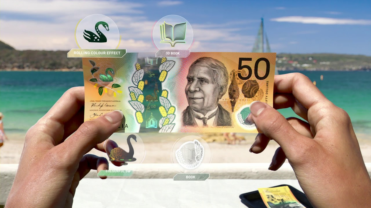 Next Generation Of Australian Banknotes