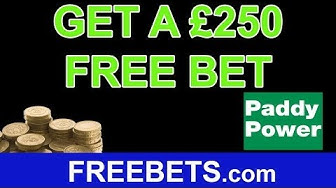 How To Get £250 Free Bets On Paddy Power