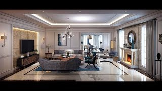 LIVING ROOM INTERIOR DESIGN so beautiful and luxurious   3d model file design