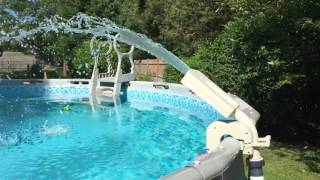 Intex led color changing pool sprayer.