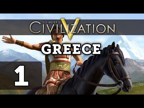 Civilization 5: Deity Let's Play Greece - Part 1