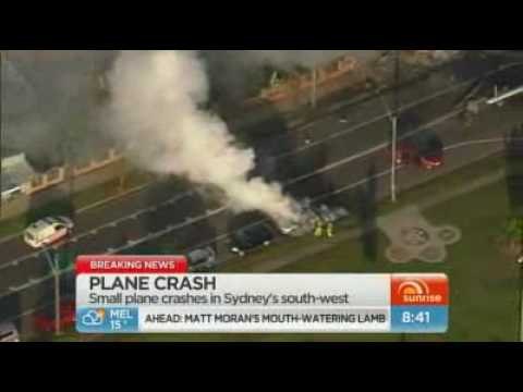 Two dead in Sydney plane crash