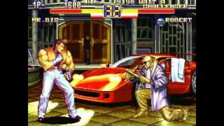 Art of Fighting Anthology PlayStation 2 Gameplay -