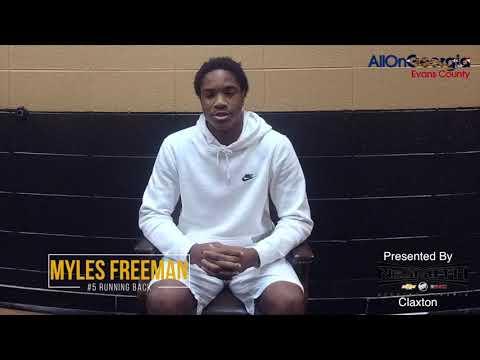 Player of the Week: Myles Freeman