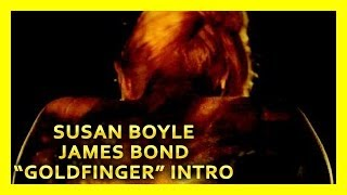 "AMAZING! Susan Boyle sings in James Bond ""Goldfinger"" 007"