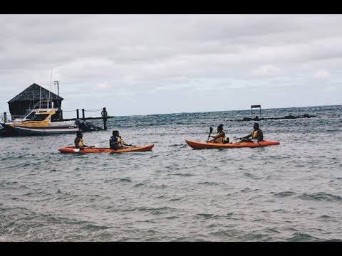 Canoeing in Samoa! | Kaiauna Tiumalu
