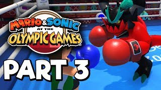 Mario & Sonic at the Olympic Games Tokyo 2020 Story mode Part 3 Gameplay Walkthrough