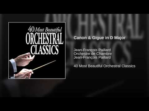 Canon & Gigue in D Major