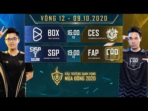 BOX có 3 điểm trước CES, FAP thất bại trước SGP - Vòng 12 Ngày 2 - ĐTDV mùa Đông 2020