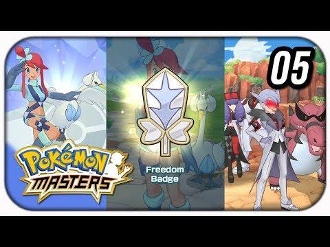 gameplay-pokémon-masters!-capítulo-5,-skyla-e-segunda-insÍgnea!