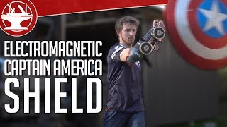 One of the Hacksmith's most viewed videos: Does Captain America's Electromagnet Shield Work?