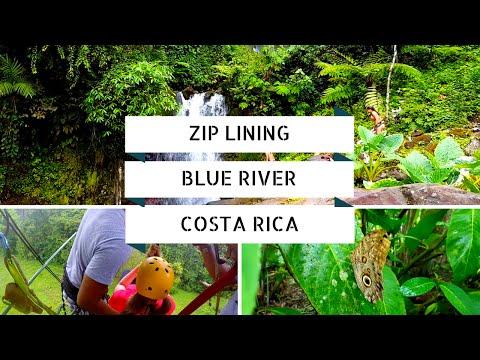Zip Lining - Blue River - Costa Rica (June 2016)