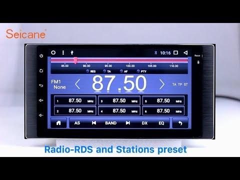 OEM 2011-2015 Subaru universal Forester Bluetooth Radio GPS Navigation with Audio system