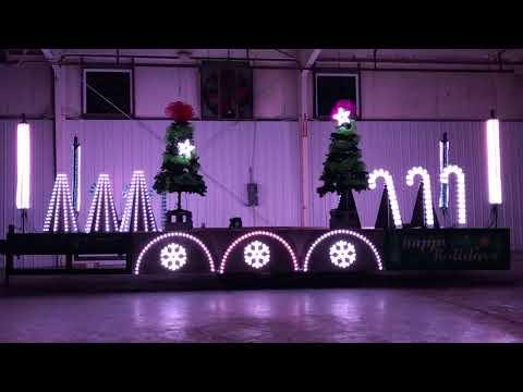 Christmas Parade Float - Owl City