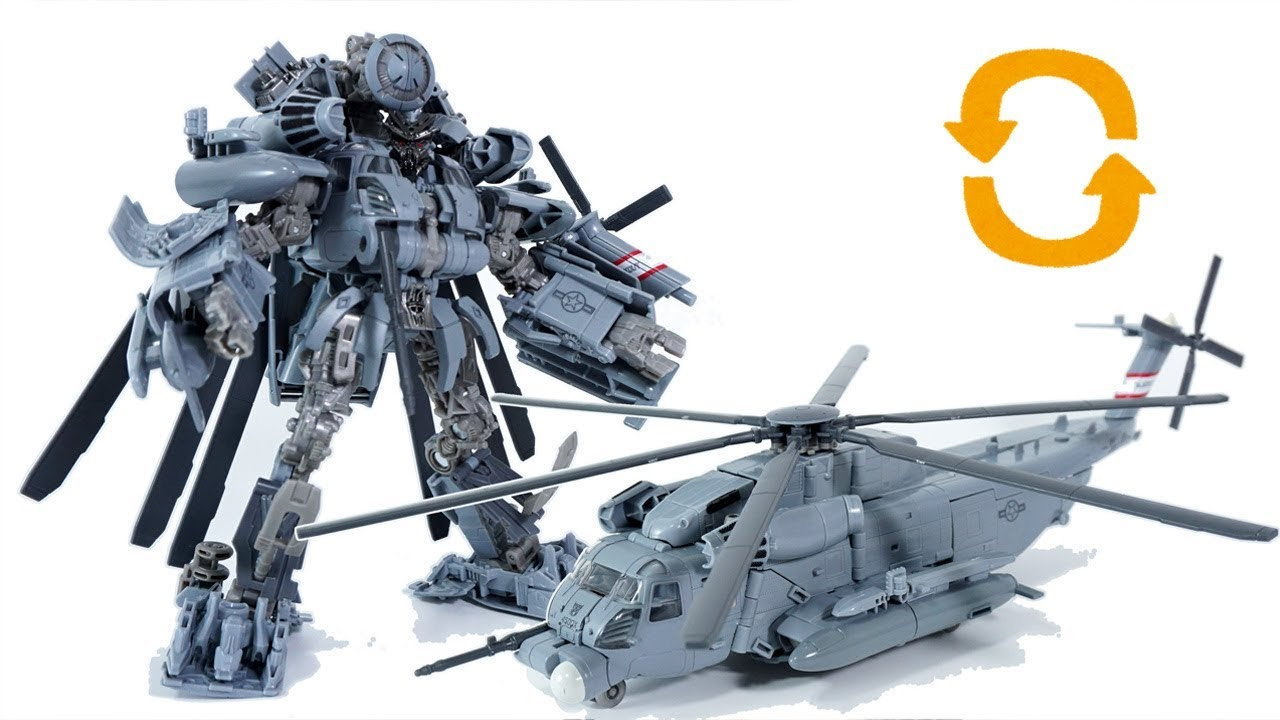 Transform Transformers Studio Series 08 Leader Class Blackout Youtube