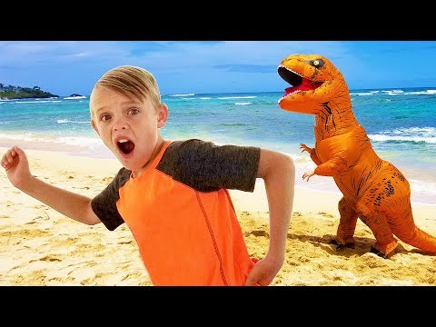 kids-fun-tv-compilation-video:-dinosaur,-pirate,-incredibles-and-jumanji-together!