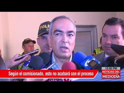 Comisionado de paz habla sobre curul de Iván Márquez