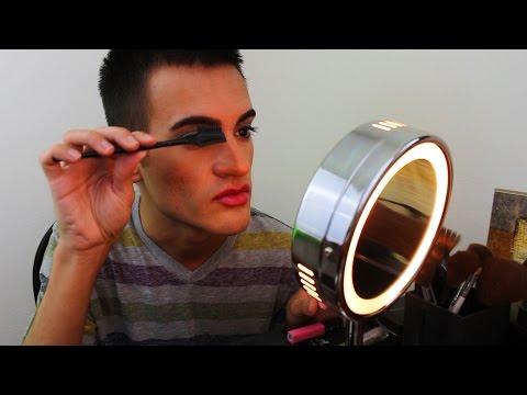 My Makeup Routine - Make up Application on Myself (ASMR)