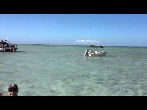 Kaneohe Hawaii Sandbar Halfpipe