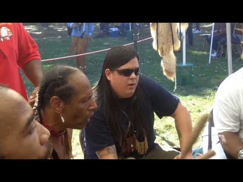 Eastern Algonquin Pride Singers 27Sep14 Roger Williams Powwow