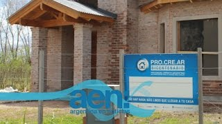 Procrear puso en marcha más de 194 mil viviendas en todo el país. AEN TV 07/10 11HS