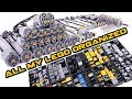 How I sort my LEGO technic collection  OCD style