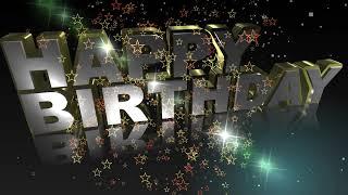 Video HD Happy Birthday Animated Text Greeting download MP3, 3GP, MP4, WEBM, AVI, FLV Juli 2018