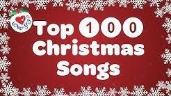 Top 100 Christmas Songs and Carols Playlist with Lyrics 2019 🎅