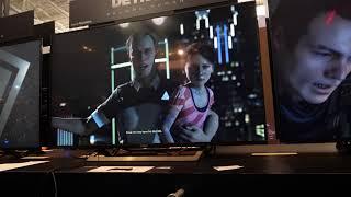 Detroit Becoming Human - Off screen 4K 60p footage PAX East 2018 - Panasonic GH5
