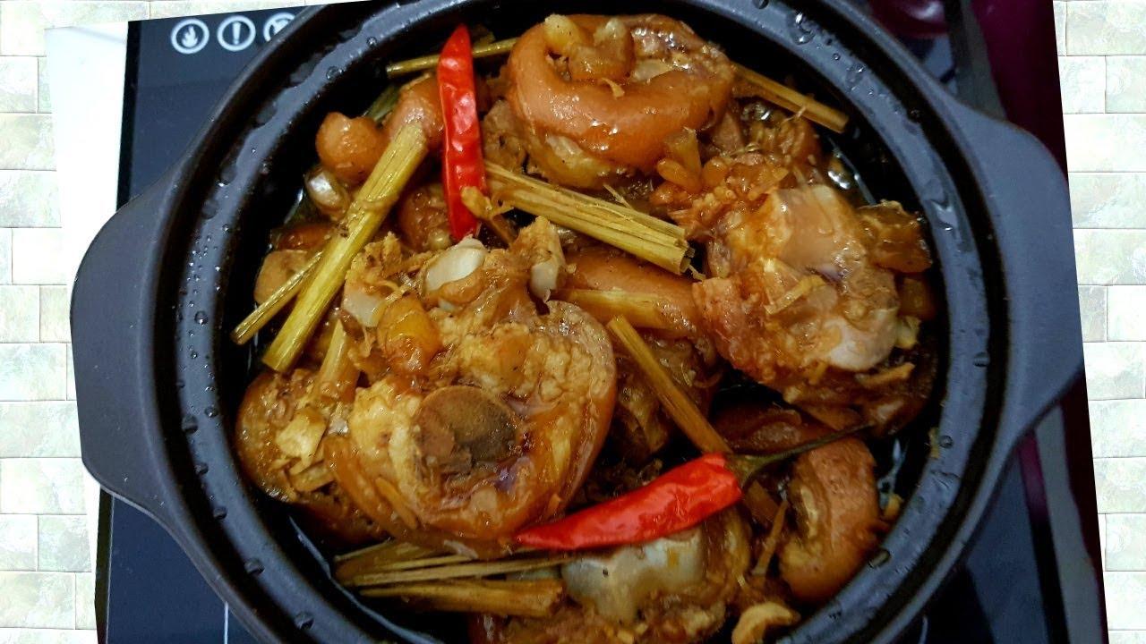 Chân giò kho Sả ớt • món ngon đãi cả nhà ngày se lạnh-Thanh Tâm Food