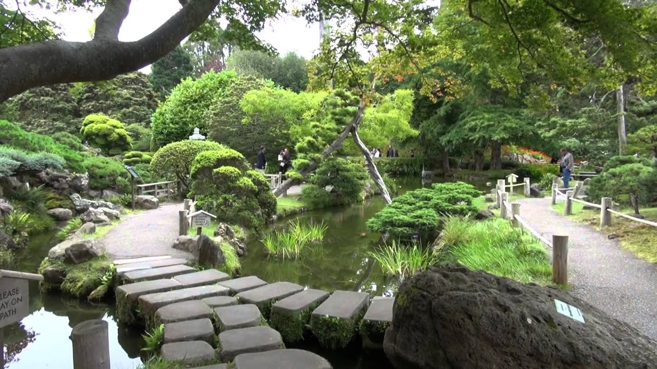 Japanese tea garden youtube for Japanese tea garden hours