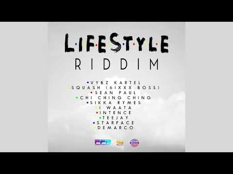 Lifestyle Riddim Mix (2019) Vybz Kartel,Squash,Teejay,Sean Paul,Demarco & More (Frenz For Real)