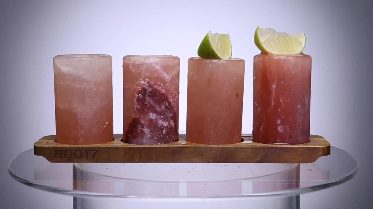 Image result for himalayan salt shot glasses