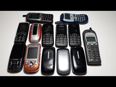 Посылка #14 с аукциона. Новая куча телефонов. Sony W550I. Samsung E1310B. D600. E570. E1050. E1200R