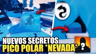 NEW SECRETS *PICO POLAR* FROZEN KING IN THE ICEBERG *NEVADA* FORTNITE BATTLE ROYALE