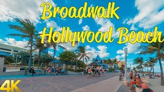 Riding a bike on the boardwalk Hollywood Beach | GoPro Hero 8 4k