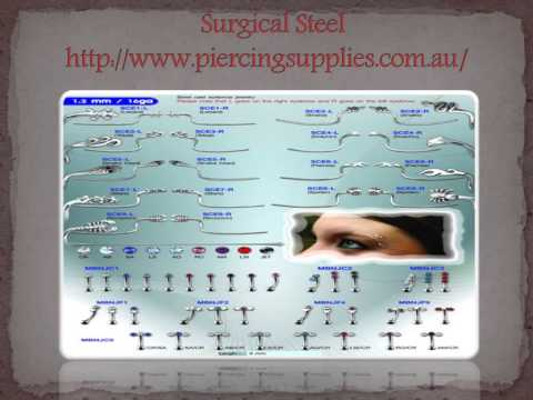 Wonderful Collection Of Body Piercing Jewellery At Piercingsupplies Com Au