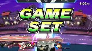 上スマ3勝者側準決勝 フト(マリオ)vs たむしか(ダックハント)- Huto(Mario)vs Tamushika(Dackhant)- スマブラSPオフ大会